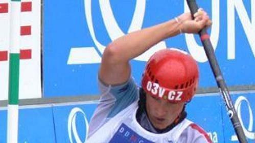 Marie Řihošková obsadila na MS ve vodním slalomu v Praze-Troji osmé místo.
