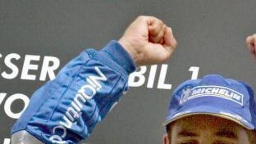 Montoya měl z vítězství v zemi svého rivala Michaela Schumachera neskrývanou radost.