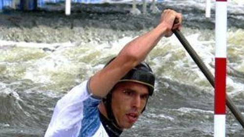 Kanoista Stanislav Ježek vybojoval na MS ve vodním slalomu v Praze-Troji bronz.