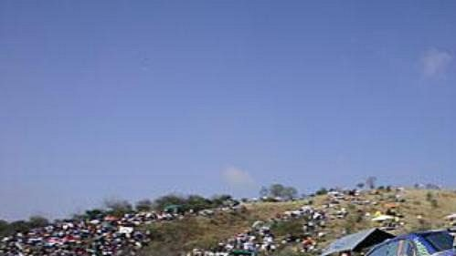 Nor Petter Solberg na trati druhé etapy Mexické rallye.