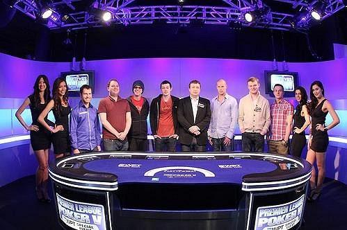 Finálová osmička Party Poker Premier League V spolu s Royal Flush Girls