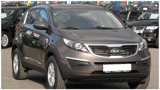 SUV Kia Sportage 1.6 GDI