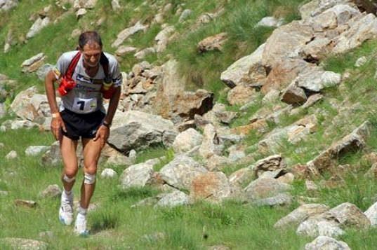 Trénink v horách je pro Marca téměř každodenní rutinou.