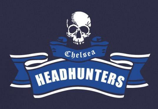 Logo chuligánského gangu The Chelsea Headhunters.