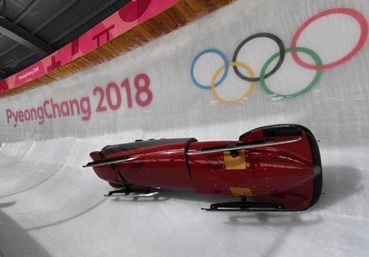 Havárie belgické pilotky An Vannieuwenhuyseové na olympijské dráze.