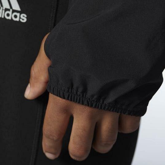 Pánská běžecká bunda Adidas Supernova Storm - detail rukávu.