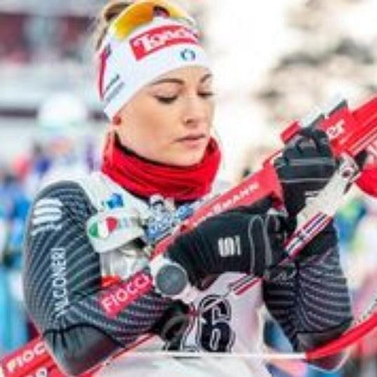 Dorothea Wiererová ve sprintu úspěšná enbyla.