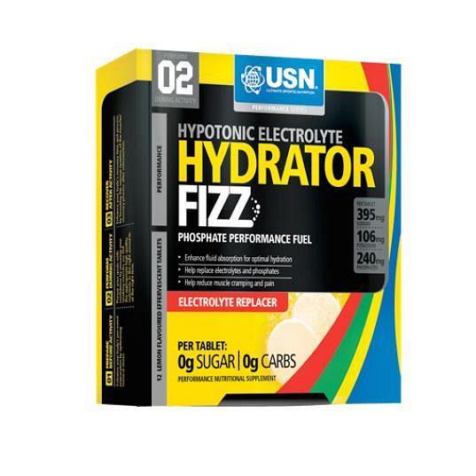 Hydrator Fizz je vhodný k doplnění vitamínů a minerálů během fyzické aktivity.