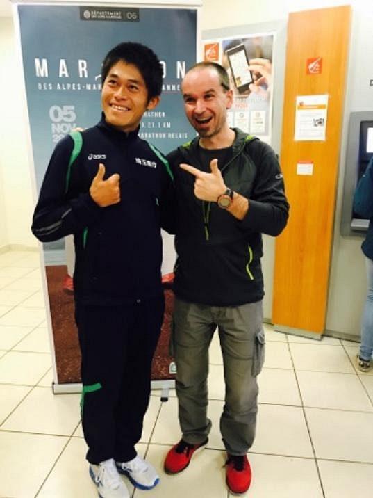 S Jukim Kawaučim jsme měli možnost potkat se také osobně.