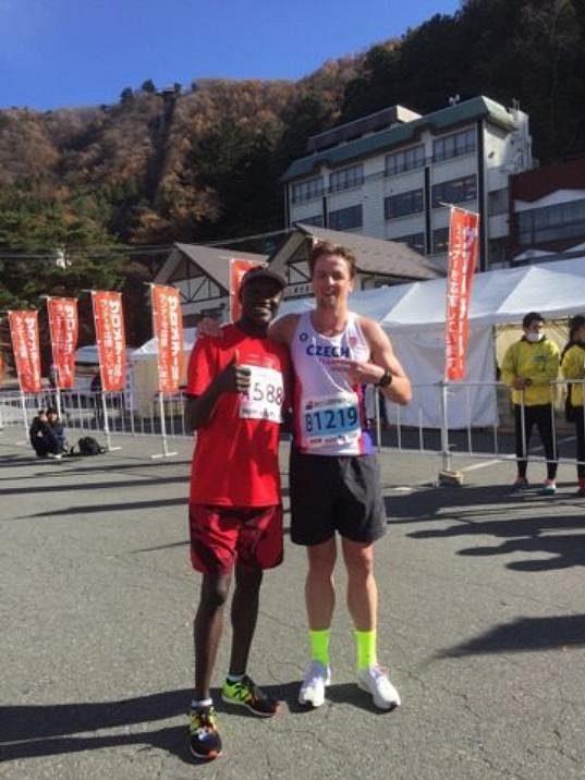 Fujisan Marathon - Počkej příště, Keňane!