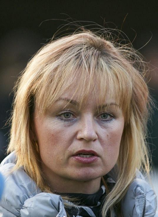 Trenérka Hana Kabelková.