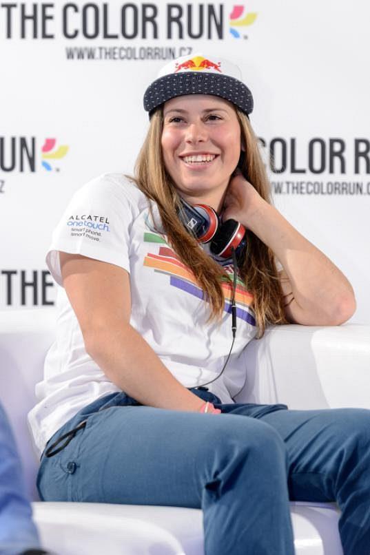 Eva Samková poběží ve Stromovce závod The Color Run.