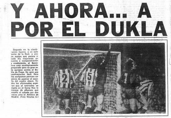 Faksimilie z dobových španělských novin.
