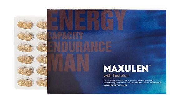 Maxulen je doplněk stravy s vědecky prokázanými účinky vyvinutý speciálně pro muže.