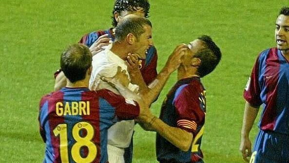 El Clásico je vždy velmi vyhrocené, pamatují na to i Zinedine Zidane a Luis Enrique.