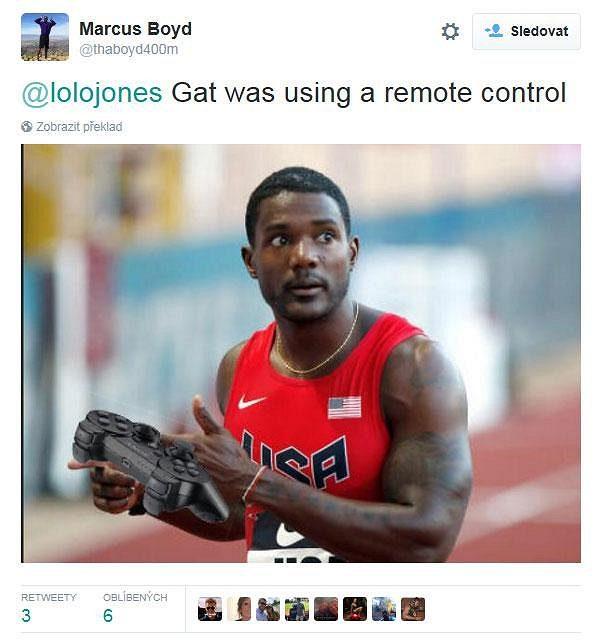 Na twitteru se okamžitě vyrojily k incidentu Usaina Bolta s čínským kameramanem úsměvné reakce.