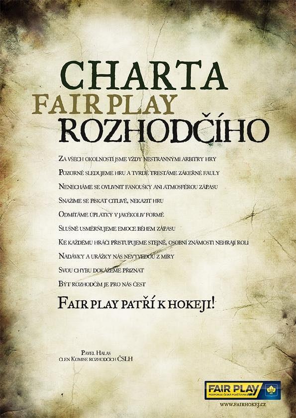 Charta fair play rozhodčího
