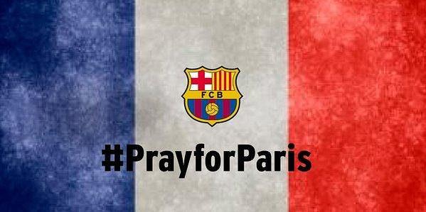 Vzkaz FC Barcelony na sociální síti twitter.