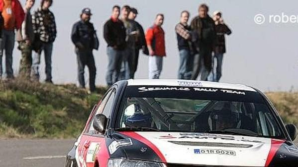 Posádka Rally Teamu Seznam.cz