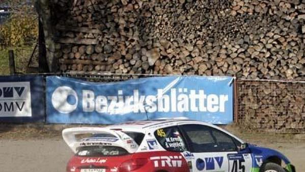Štěpán Vojtěch na trati Waldviertel rallye