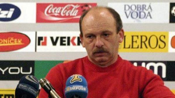 Trenér Slovácka Stanislav Levý