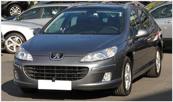 Peugeot 407 1.6 HDI combi, r. v. 2009