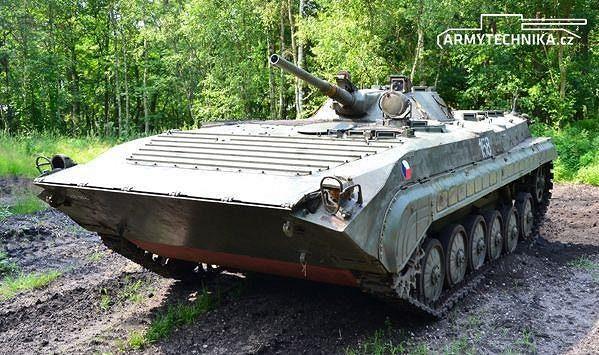 Bojový transportér BVP-1
