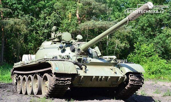 tank T-55A