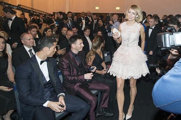 Stephanie Rocheová upoutala pozornost Cristiana Ronalda i Lionela Messiho.