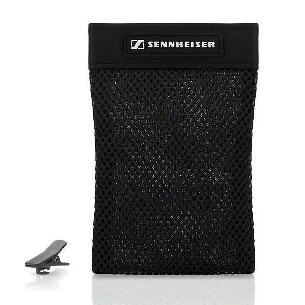 Sluchátka Sennheiser MX 686G Sports. Pytlík na převoz a kolíček pro připevnění kabelu.