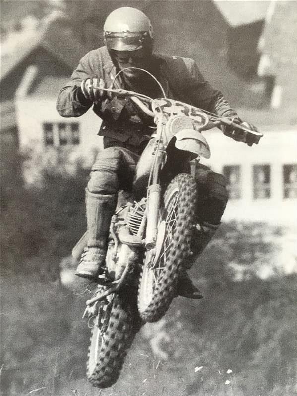Takhle létal legendární Květoslav Mašita.