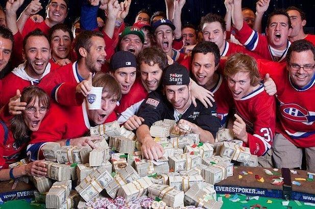 Kanaďané fandí jako na hokeji...