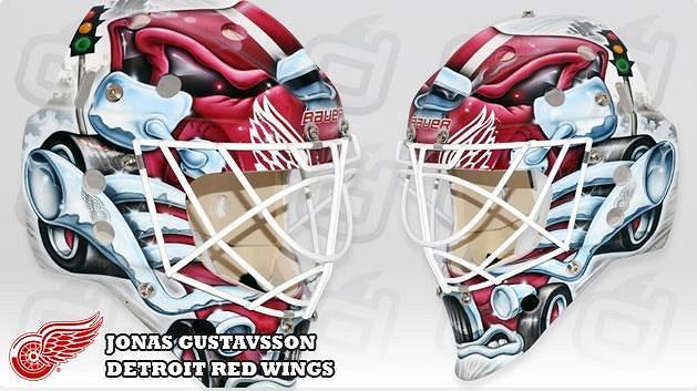 Jonas Gustavsson, Detroit Red Wings