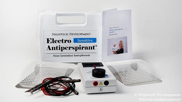 Iontoforéza Electro Antiperspirant
