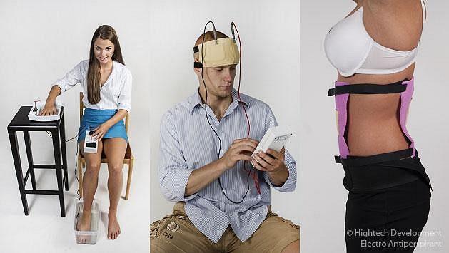 Electro Antiperspirant proti pocení čela, zad, rukou a nohou.