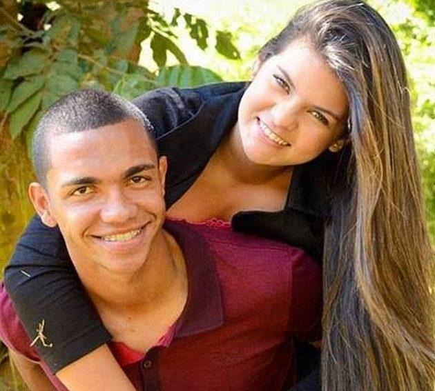 Thiaqiunho a jeho partnerka Graziele.