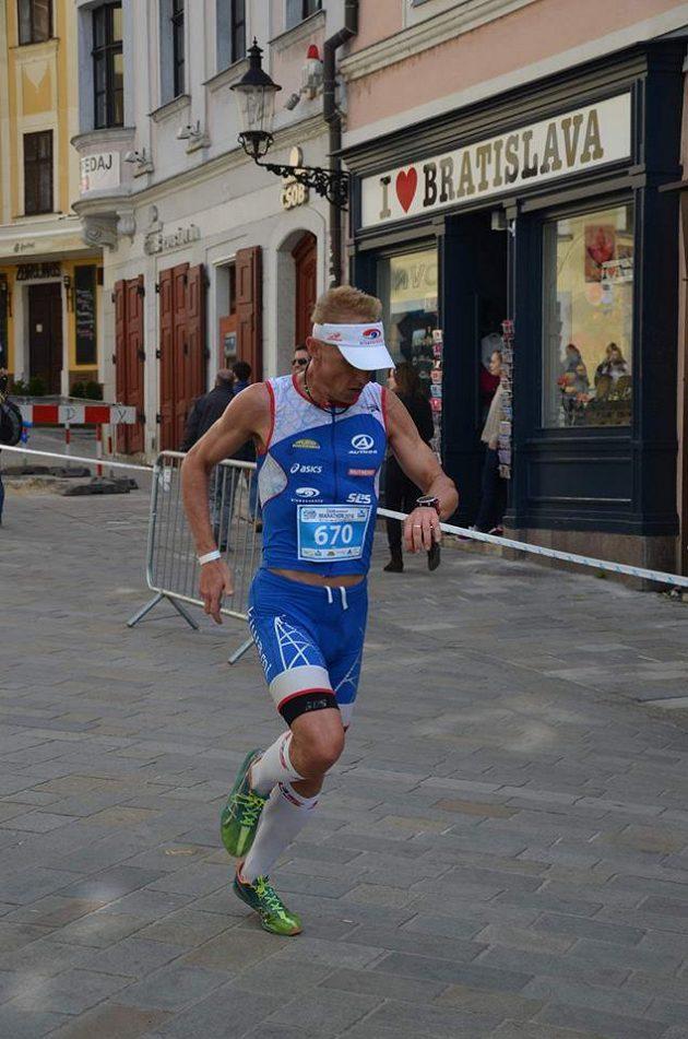 Momentka Petra Vabrouška to říká jasně. Bratislavu běžci milují.