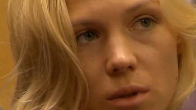 Ruská modelka a přítelkyně Sjomina Varlamova Jevgenija Vavriňuková