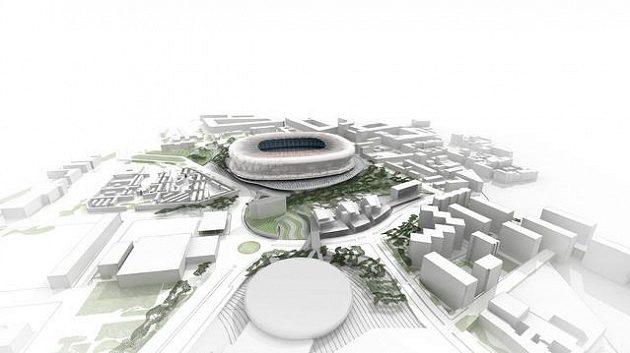 Takhle bude vypadat nový Camp Nou zvenčí.