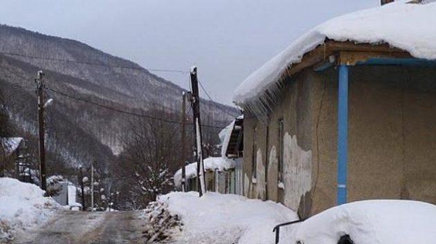 Olympijské středisko Krasnaja Poljana zaskočil při testovacím závodu EP příval sněhu..