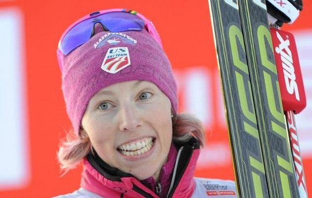 Američanka Kikkan Randallová na archivním snímku ze závodu ve Szklarské Porebě vyhrála sprint v Lahti.