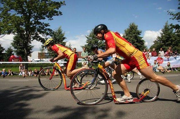 MS ve sprintu 2008 Hengelo, Nizozemsko (V. Liška obsadil 6.místo, byl to jeho největší koloběžkový úspěch).