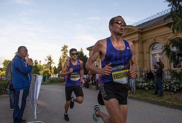 Olomouc to s běžci umí - Olomoucký půlmaratón ze série RunCzech 2015, Smetanovy sady.