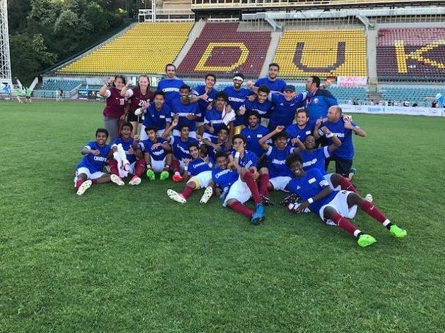 Vítězný tým Kataru.