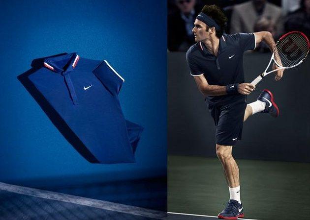 Modrá elegance Rogera Federera