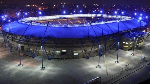 Fotbalový stadión v Charkově