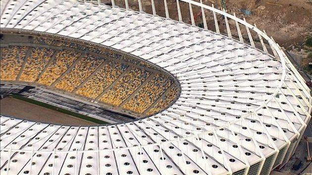 Fotbalový stadión v Kyjevě