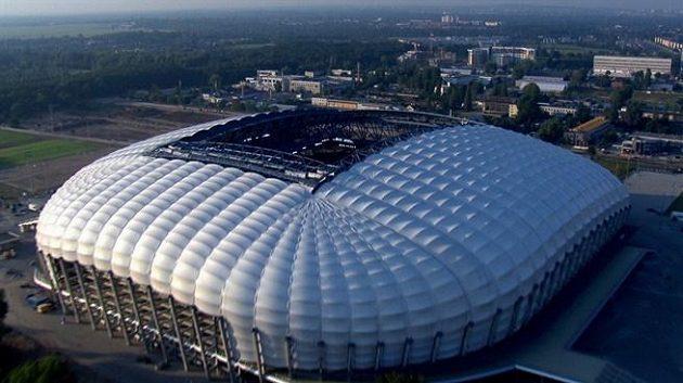Fotbalový stadión v Poznani