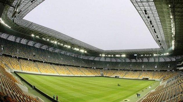 Fotbalový stadión ve Lvově