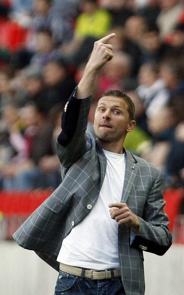 Trenér Sparty Martin Hašek.